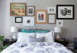 Bedroom Tv Height Wall Mount My Master Bedroom And Gallery Wall Sources