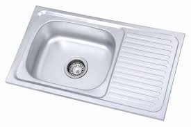 Kitchen Sinks With Drainboard by Single Bowl Sink With Drain Board