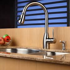 kraus kitchen faucets sink faucet design stainless steel kraus faucets single lever