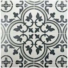 black white design modern backsplash tile allmodern