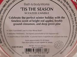 5315aga2 bath works tis the season three wick 14 5 oz scented
