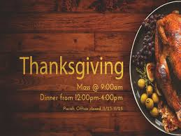 thanksgiving mass and dinner st louise de marillac