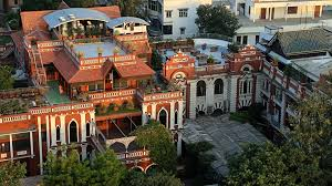 the house of mg is a boutique heritage hotel in ahmedabad it is a