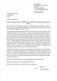 cover letter examples recent college graduate best writing