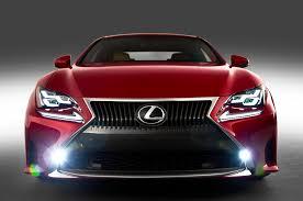 lexus is yellow fog lights styling size up 2015 lexus rc motor trend wot