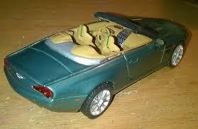 aston martin db9 volante drophead zagato 1 43 model cars hobbydb