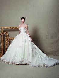online get cheap tiered ruffle wedding dress aliexpress com