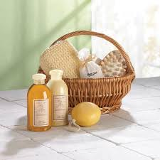 bathroom gift basket ideas l00970 eco spa baskets the source collection