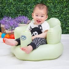 siege bebe gonflable siège de bain salle à manger chaise bébé canapé gonflable