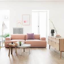 low profile sofas why the chunky low sofa has our attention emily henderson