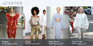 new york u0027s big spring 2017 trends edited