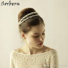 gold headbands sorbern silver gold headbands headpiece wedding