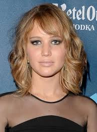 best hairstyle for large nose pictures on medium length hairstyles with wispy bangs