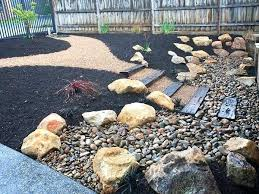 garden rocks and pebbles perth landscaping pebbles and lawn garden