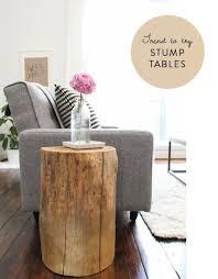 home decor pieces 36 stump décor pieces for natural home décor digsdigs