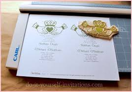 cheap make your own wedding invitations celtic wedding invitations cheap awesome your own wedding