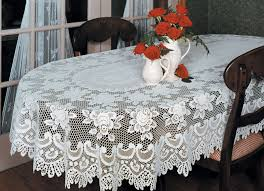 furniture oval tablecloth products and lace