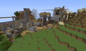 my pe world houses everywhere mcpe discussion minecraft
