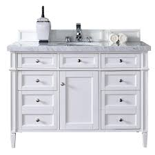 Cottage Bathroom Vanities by James Martin Signature Vanities Brittany 48 In W Single Vanity In