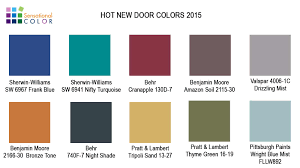 Front Door Colors For Brick House by Hot New Door Colors For 2015