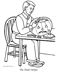 halloween pumpkin coloring 017