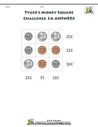math challenge worksheets u0026 printable money worksheets 3rd grade