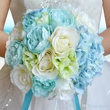 cheap flowers for wedding artificial wedding bouquets 2017 summer style silk flowers bridal