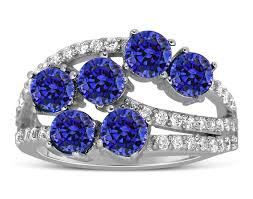 beautiful blue rings images Unique 2 carat blue sapphire and diamond ring for women jeenjewels jpg