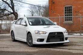 grey mitsubishi lancer one last drive 2015 mitsubishi lancer evolution final edition review