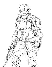 halo coloring pages getcoloringpages com