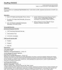 Landscape Owner Resume Landscaping Resume Examples Landscaping Resume