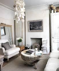 vintage shabby chic livingoom ideas beach grey white wall decor