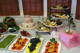 afternoon baby shower food home decorating interior design