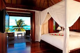 luxury island villa tropical ocean water blue interior four atoll