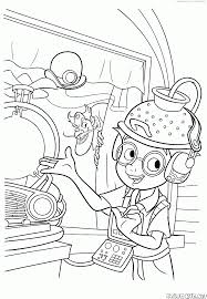 free meet robinsons cartoon coloring pages printable kids