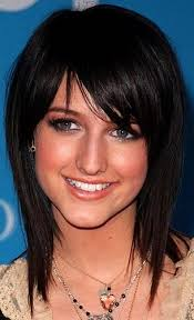 hairstyles for medium length fine hair with bangs medium hairstyles with bangs for fine hair hairstyle picture magz