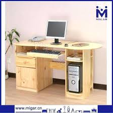 bureau informatique en bois bureau ordinateur bois bureau informatique chane sully bureau pour