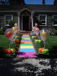 Candyland Theme Decorations - party fiesta balloon decor 912 theme parties candyland lollipops