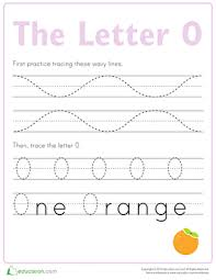 trace the alphabet preschool worksheets education com