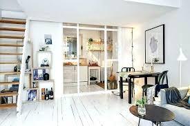 cloison amovible cuisine cloison vitree pour cuisine fermee appartement cloison