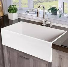 how to install farm sink in cabinet 33 single bowl farmhouse fireclay kitchen sink