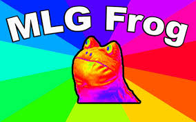 Sandstorm Meme - where is mlg frog from origin of the get out frog meme