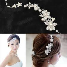 bridal crowns fashion wedding bridal headpiece hair accessories with pearl