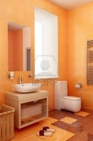 227 best tasteful colorful bathroom designs images on pinterest orange bathroom w brown details colorful bathroombathroom colorsbathroom designsbathroom