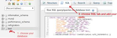 sql create table primary key autoincrement mysql how do i create in a table in phpmyadmin stack overflow