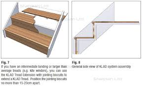 white oak stair cladding oak stair treads stair klad offer