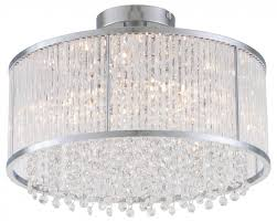 Large Semi Flush Ceiling Lights Chandeliers Design Awesome Cry Semi Flush Chandelier Mount The