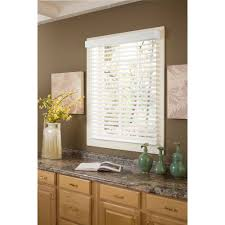 Home Decorators Collection Faux Wood Blinds Richfield Studios 2 U0027 U0027 Faux Wood Blinds White Walmart Com
