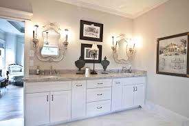 french country bathroom with lighting family room