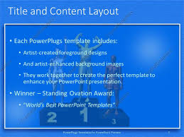 powerpoint template the position holders on the winning podium